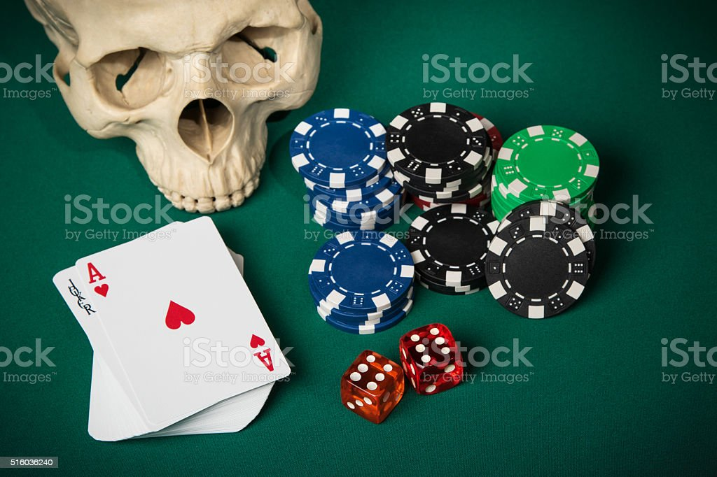 Concept of casino stock photo