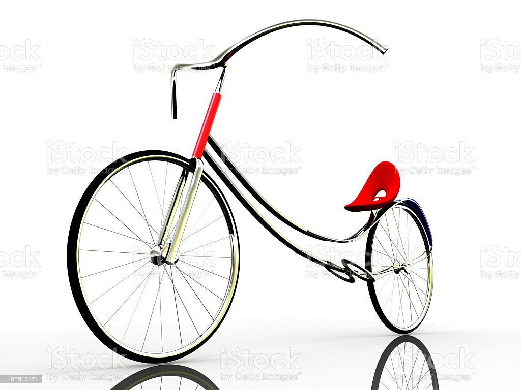 concept of electric bike stock photo