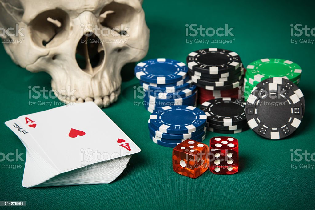 Concept of gambling stock photo