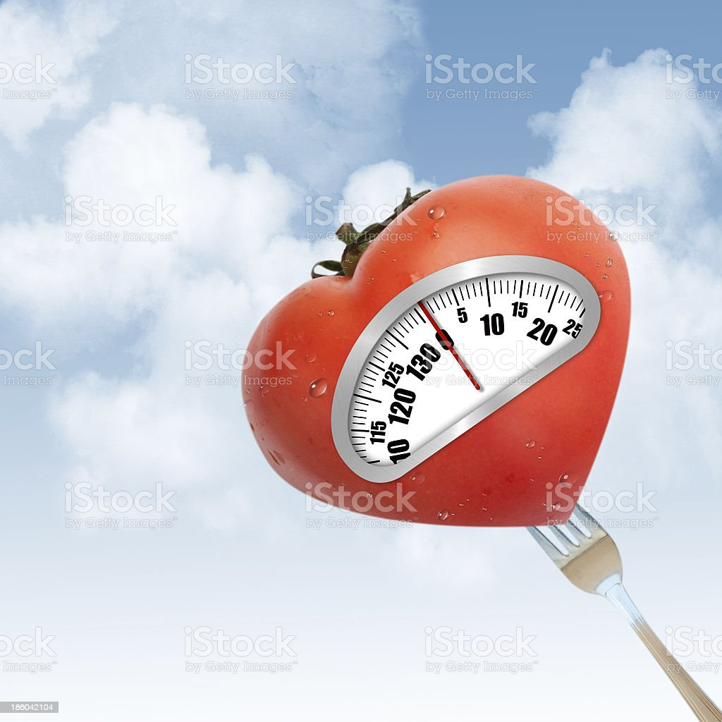 Concept of healthy eating royalty-free stock photo