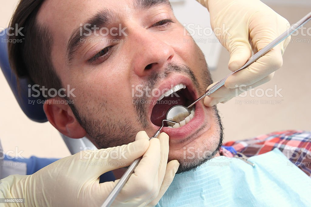 Concept of healthy teeth royalty-free stock photo