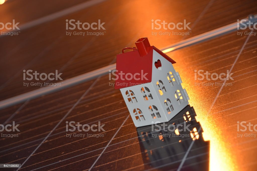 concept of HOUSE AS savings stock photo