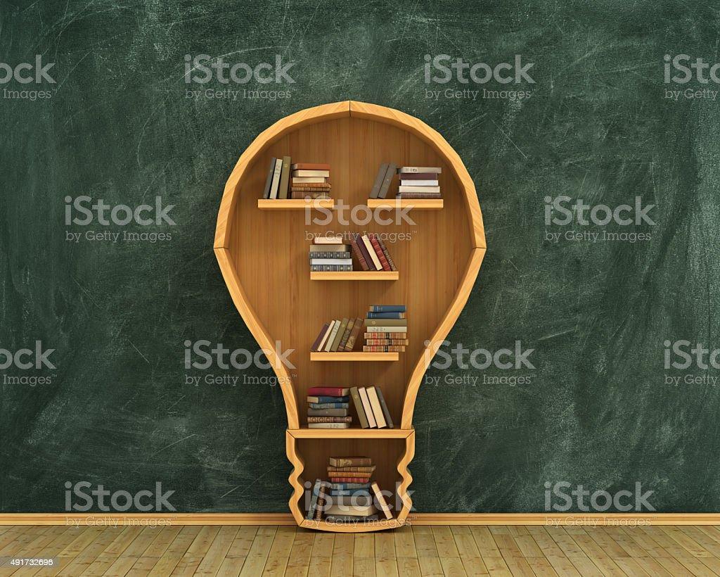 Concept of idea. stock photo