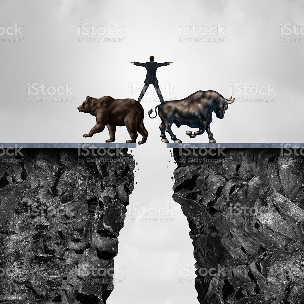 Concept Of Investment Risk stock photo