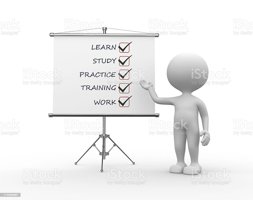 Concept of learn stock photo