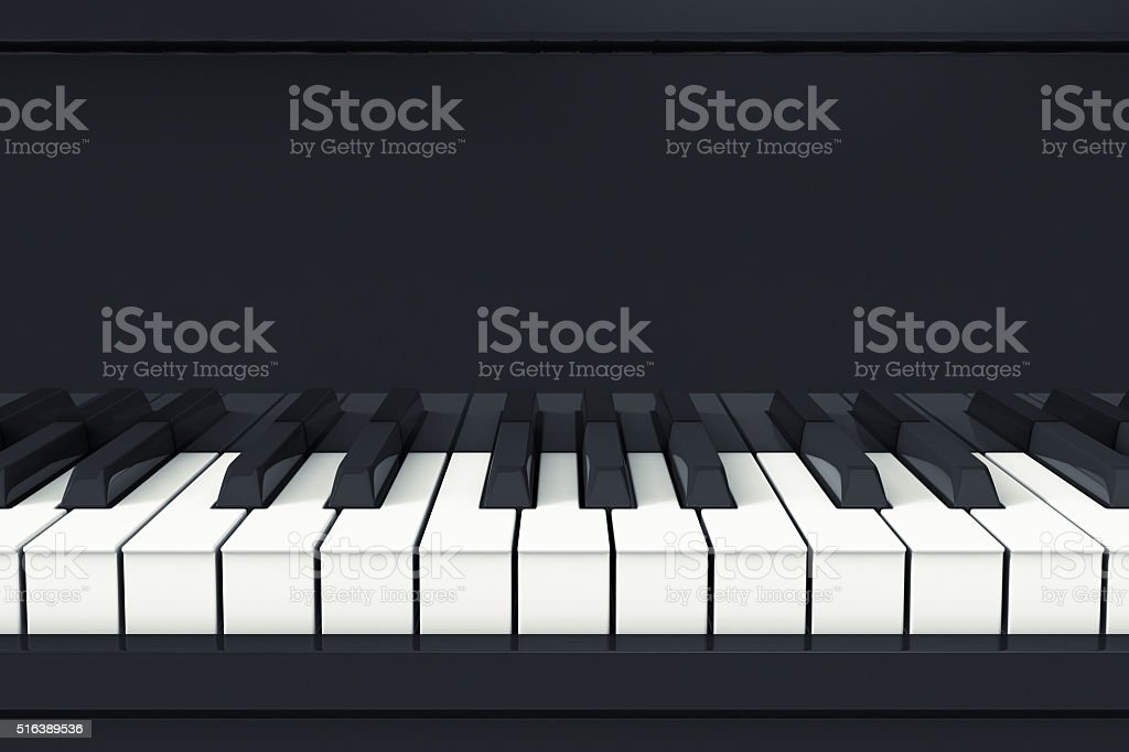 concept of music stock photo