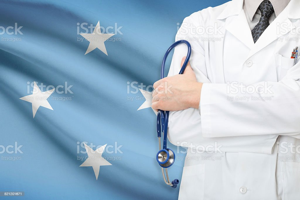 Concept of national healthcare system - Federated States of Micronesia stock photo