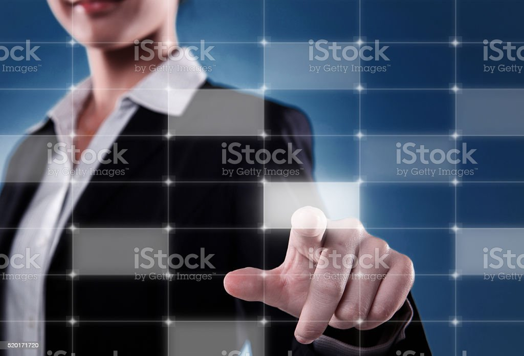 Concept of new business strategy stock photo