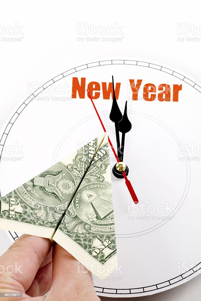 concept of New Year royalty-free stock photo