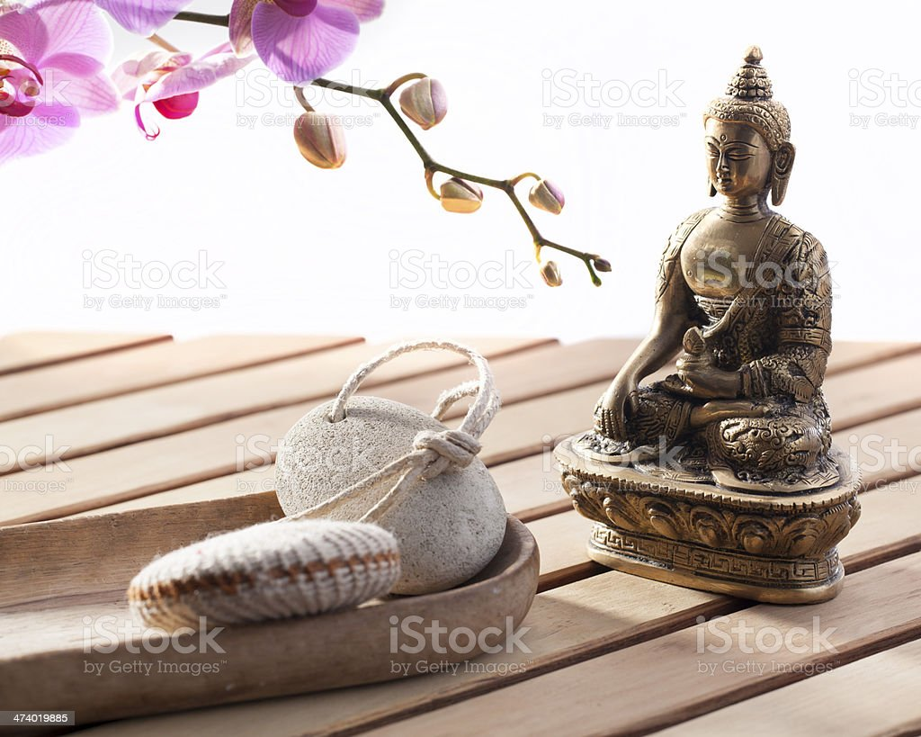 concept of purification for inner beauty royalty-free stock photo