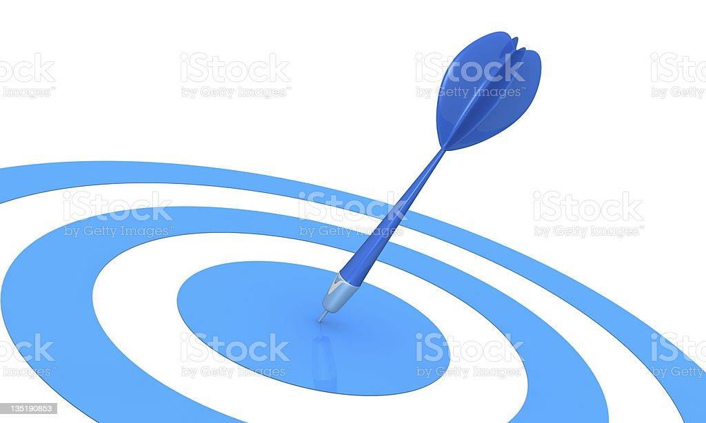 concept of target stock photo