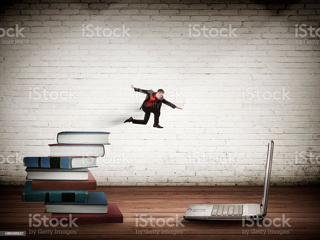 Concept Of Technology Migration stock photo