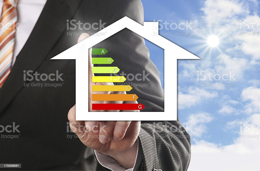 concept of the dream house stock photo