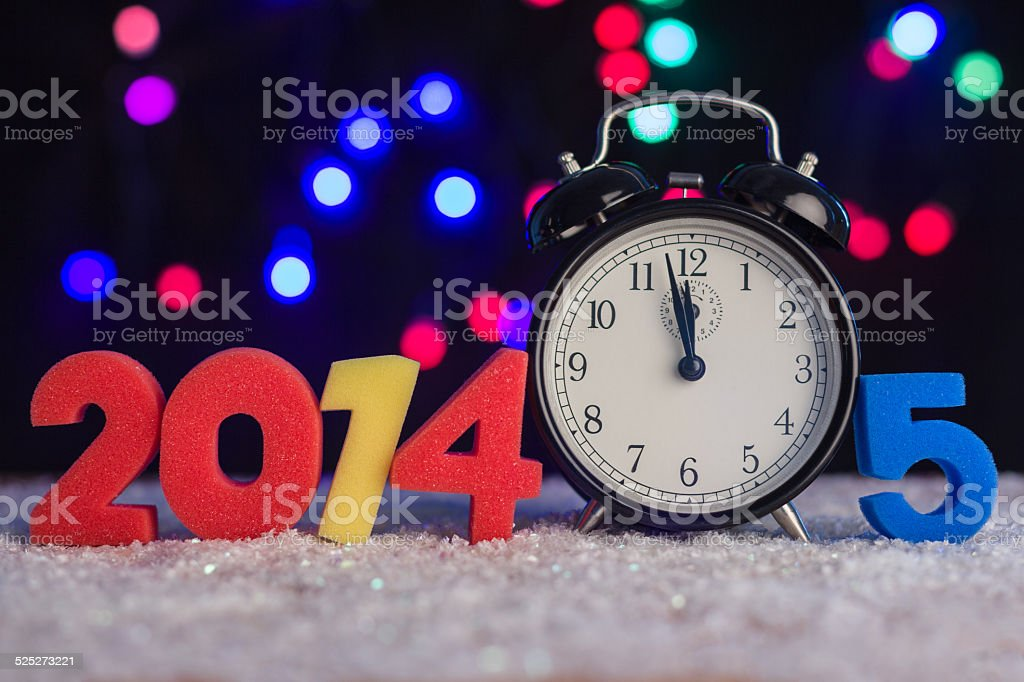 concept of the new year royalty-free stock photo