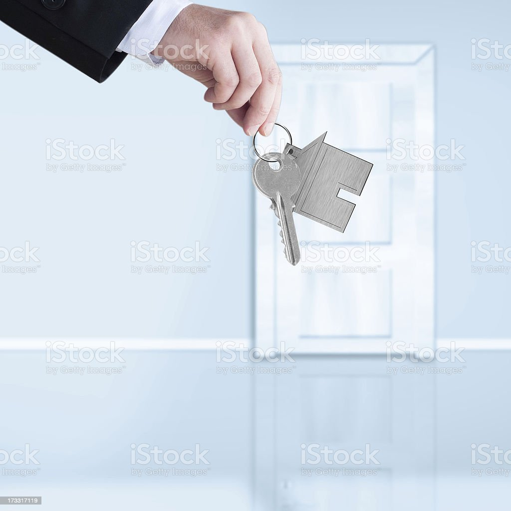 Concept of the real estate royalty-free stock photo
