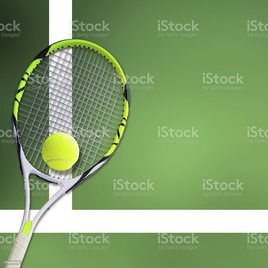Concept of the tennis royalty-free stock photo