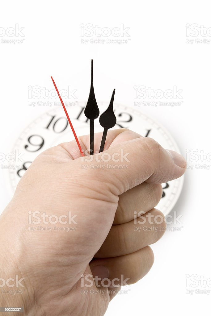 concept of time control stock photo