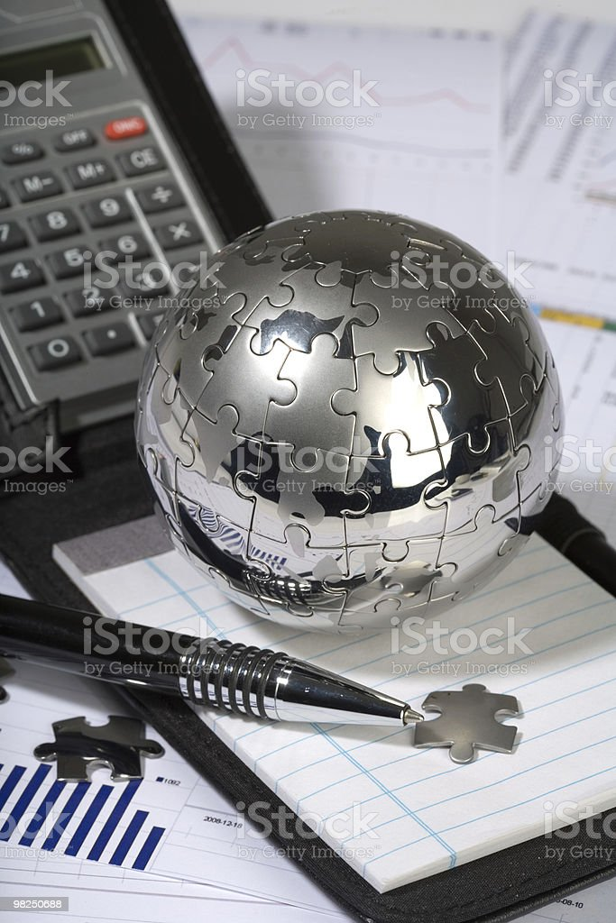 concept of tradition office  business stock photo