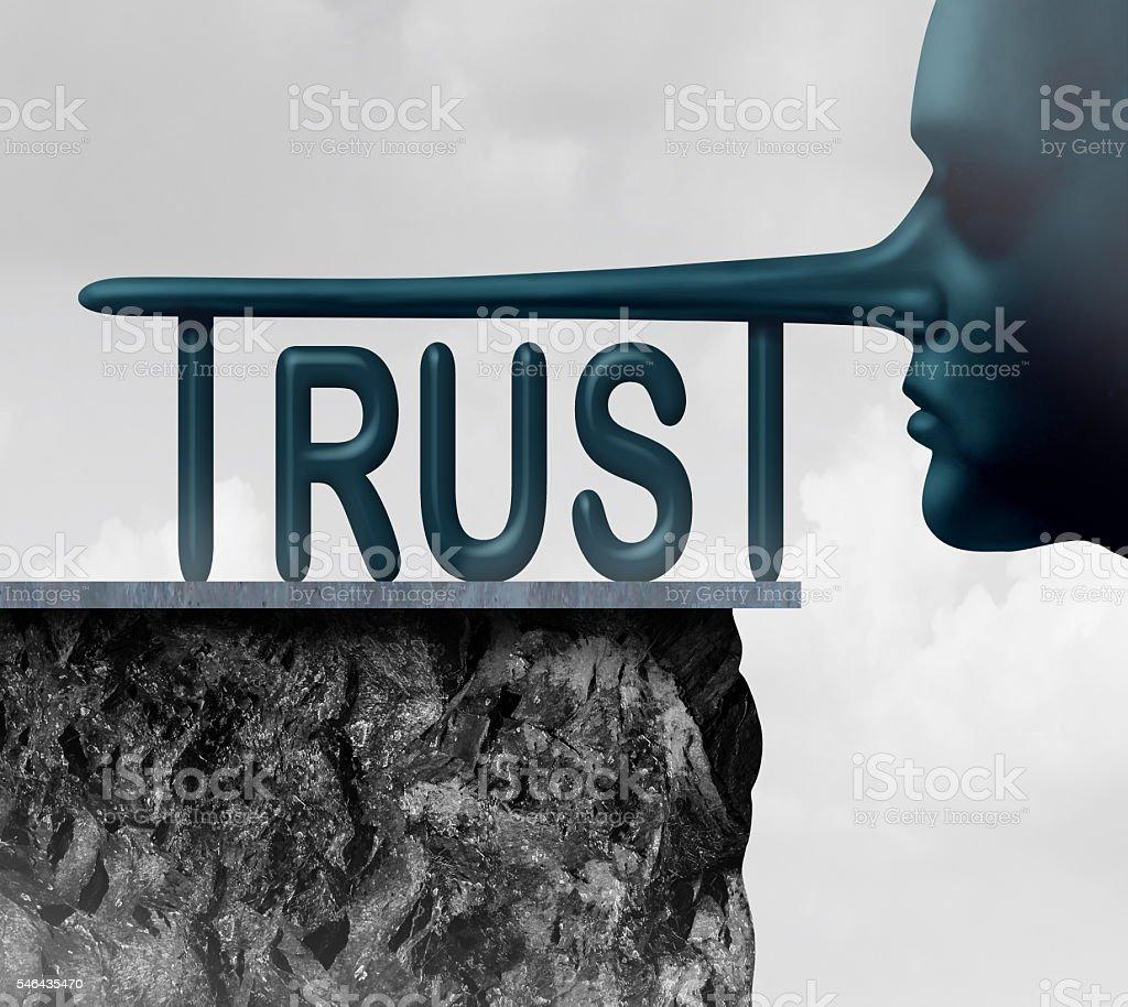 Concept Of Trust stock photo