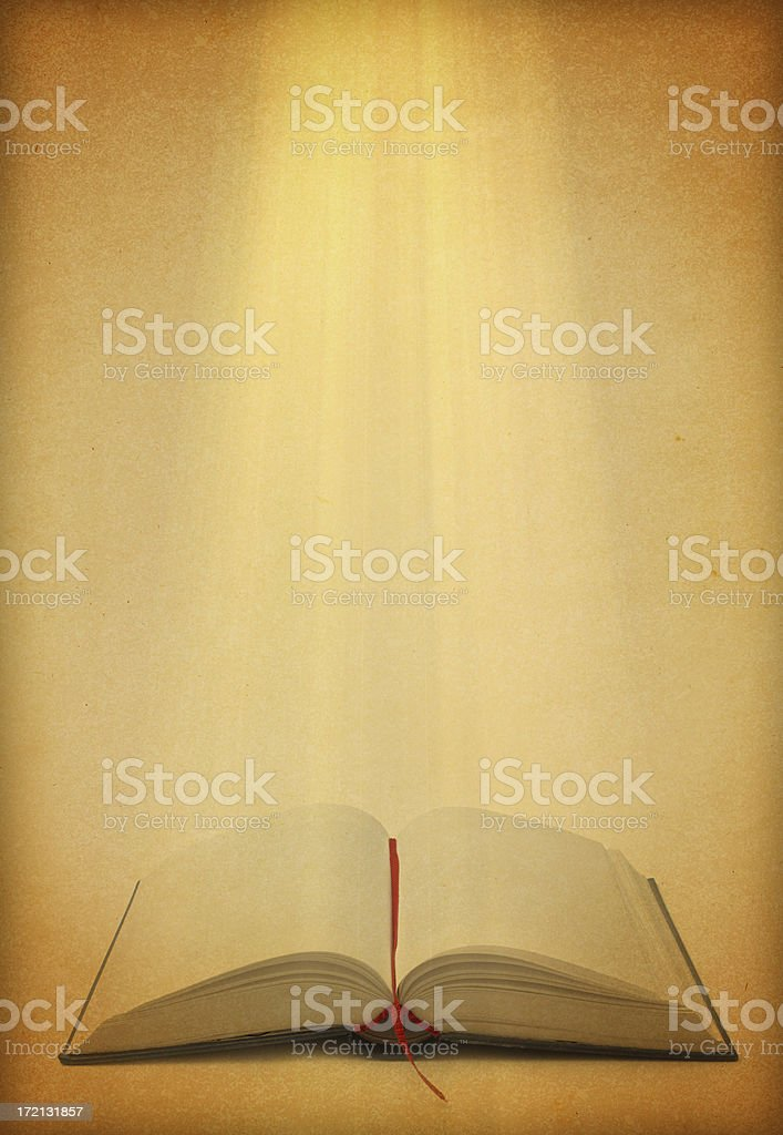 Concept Open Book royalty-free stock photo