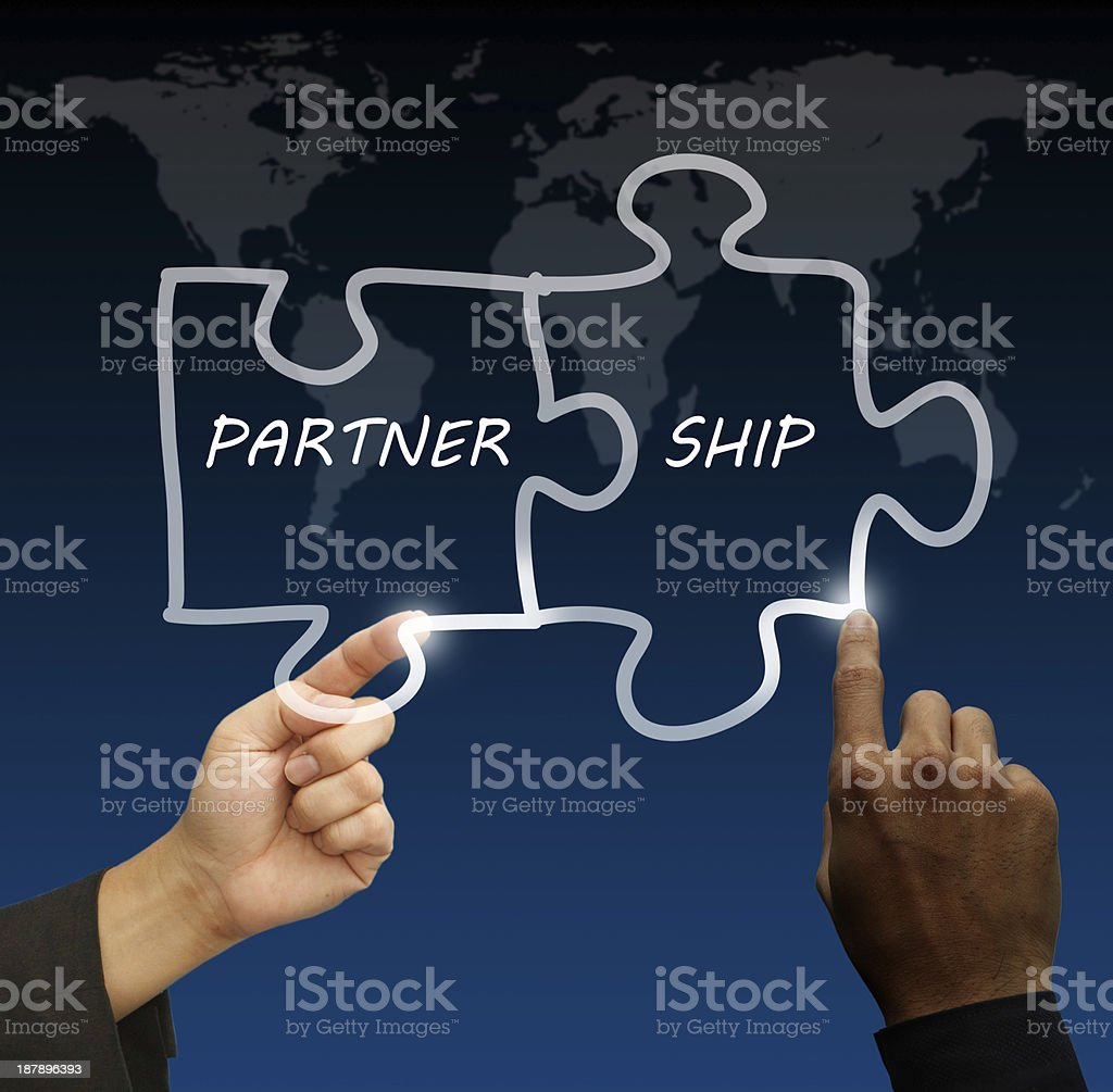 concept partnership royalty-free stock photo