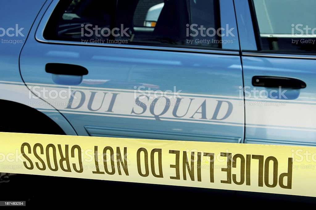 DUI Concept royalty-free stock photo