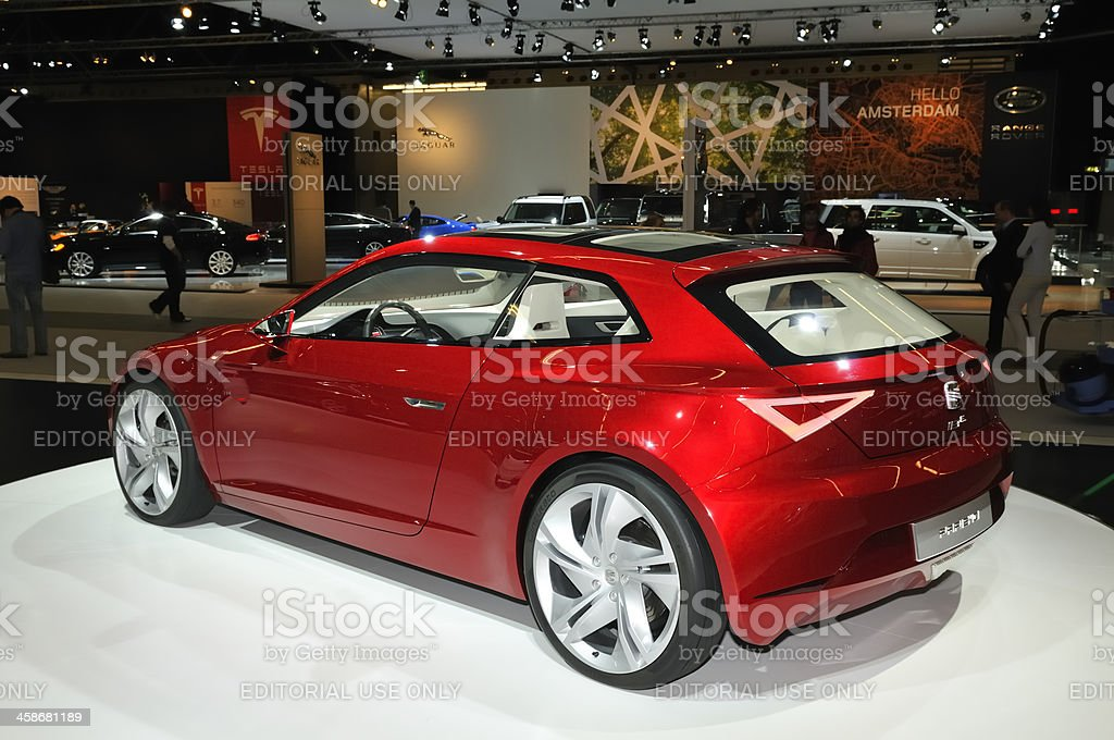 SEAT IBE concept royalty-free stock photo