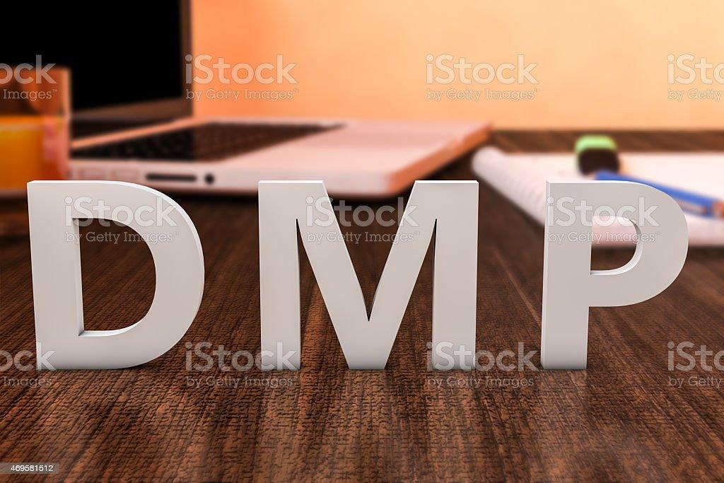 DMP Concept stock photo
