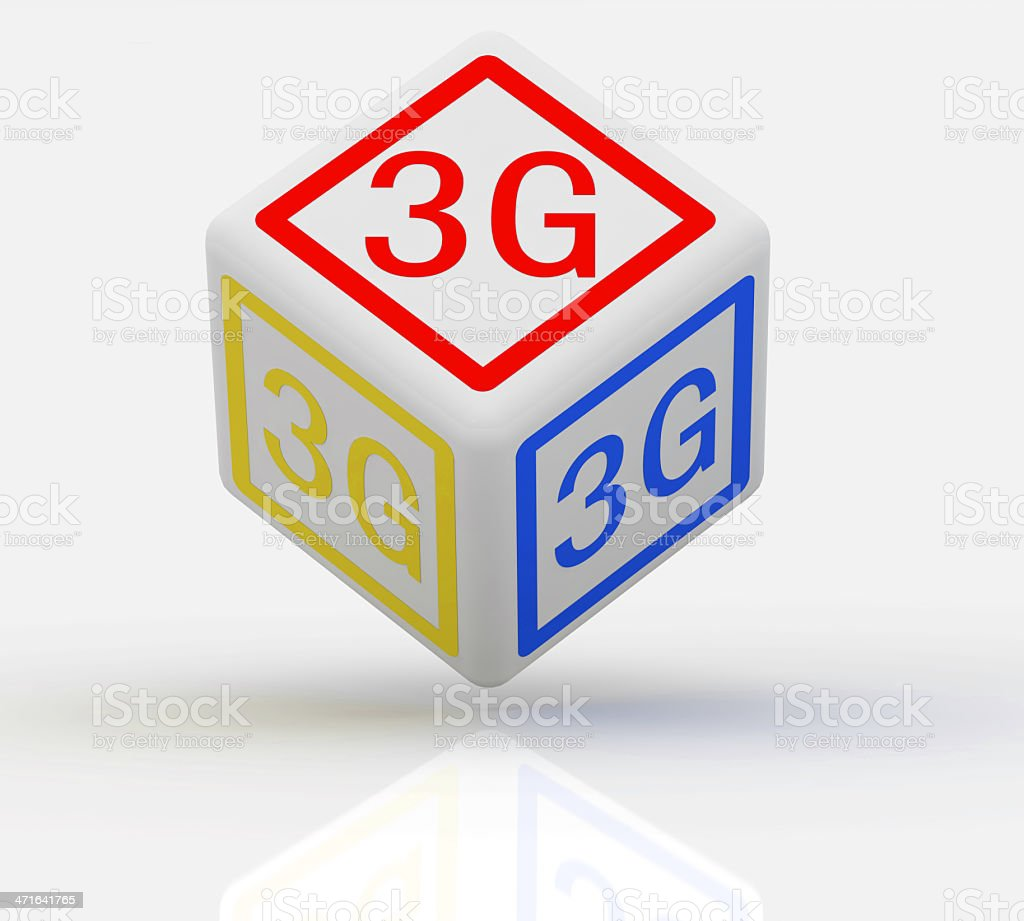 3G concept royalty-free stock photo