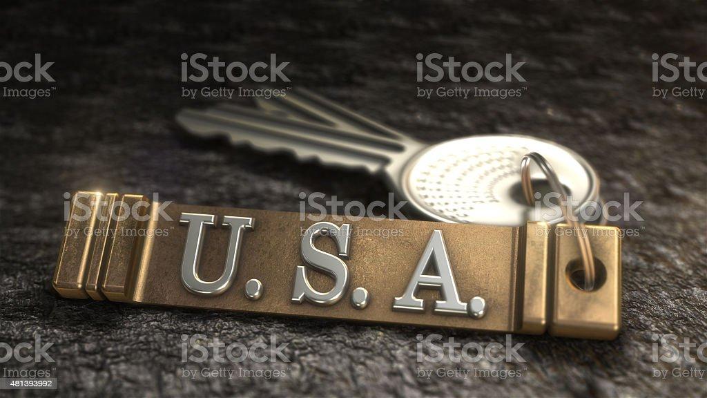 Concept États-Unis photo libre de droits