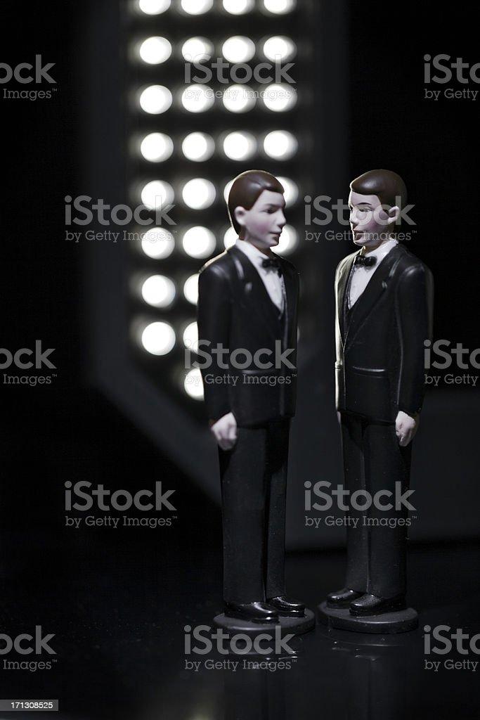 Concept same sex  marriage stock photo