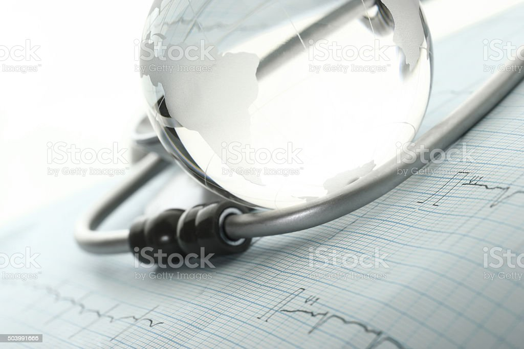 Concept the international medical community stock photo