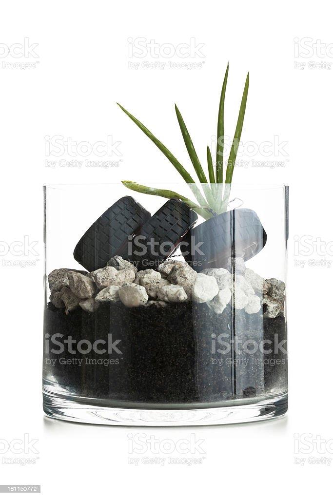 Concept with terranium royalty-free stock photo