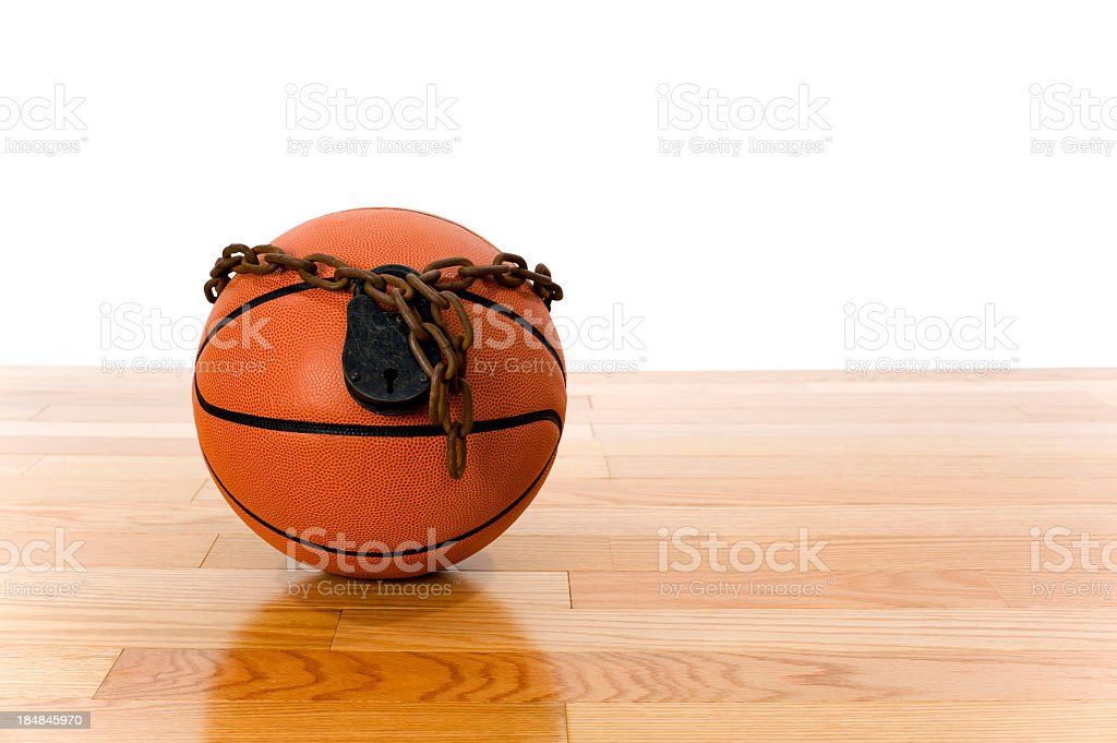 Concept-NBA Lockout stock photo