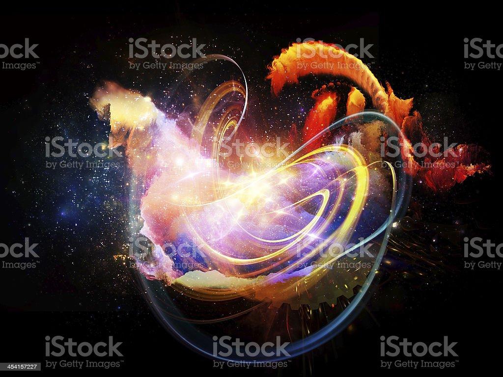 Conceptual Design Nebulae royalty-free stock photo