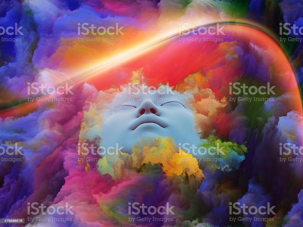 Conceptual Dream stock photo
