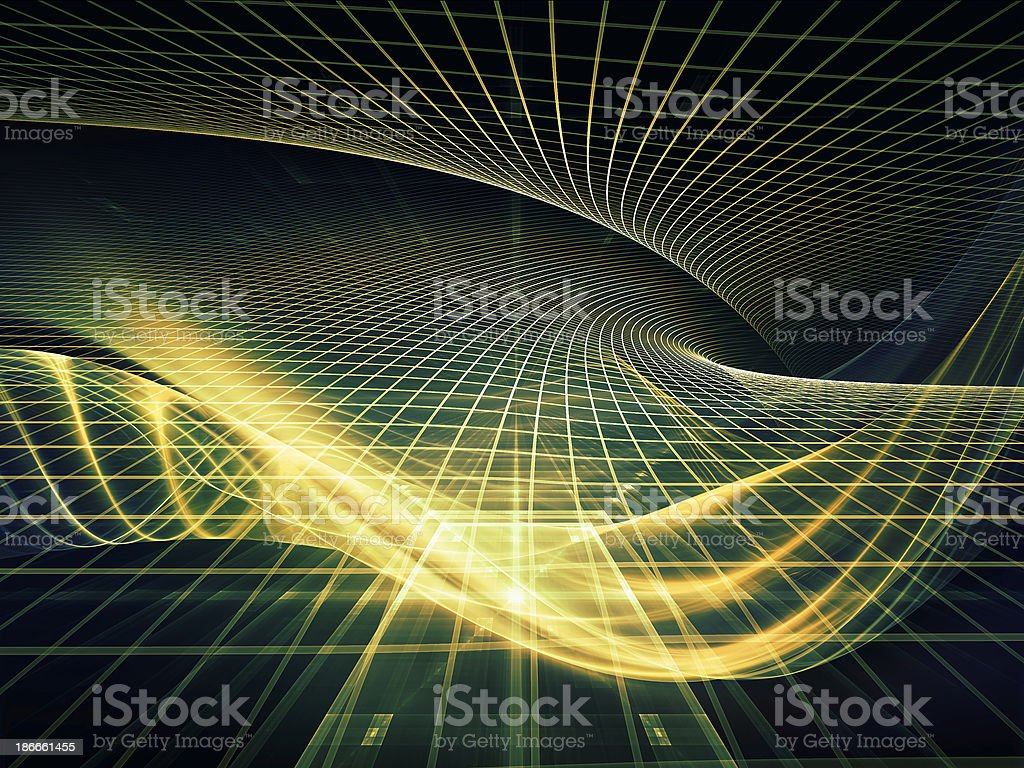 Conceptual Fractal Realms royalty-free stock photo