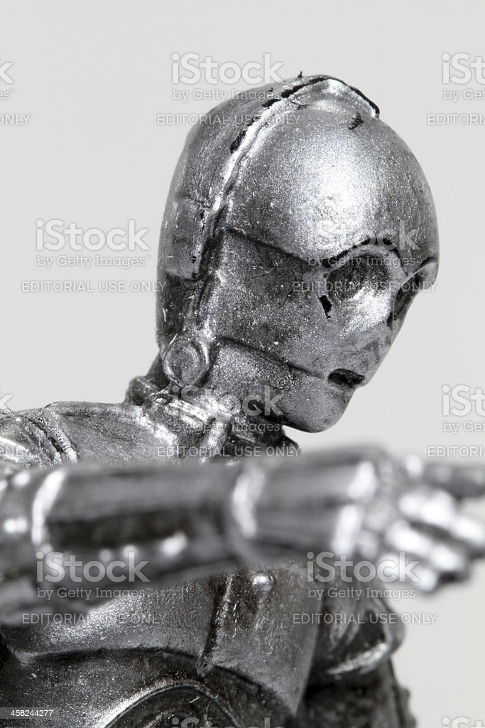 Concerned Droid stock photo