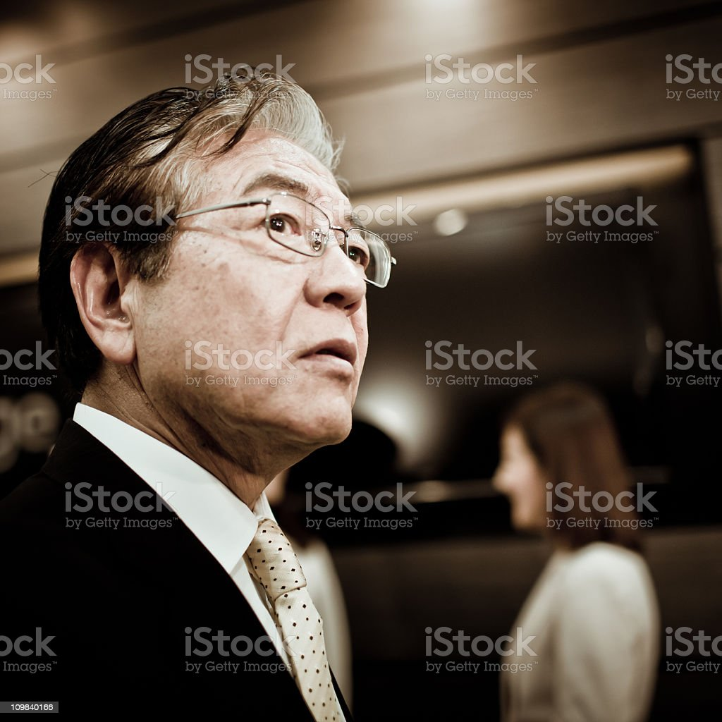 Concerned royalty-free stock photo