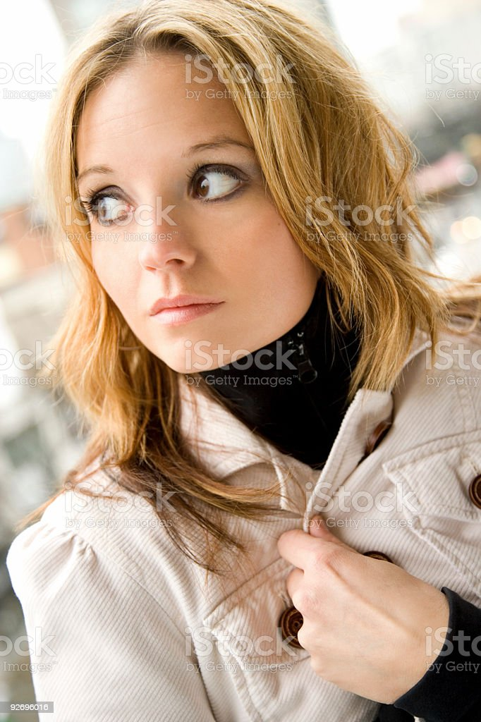 Concerned stock photo