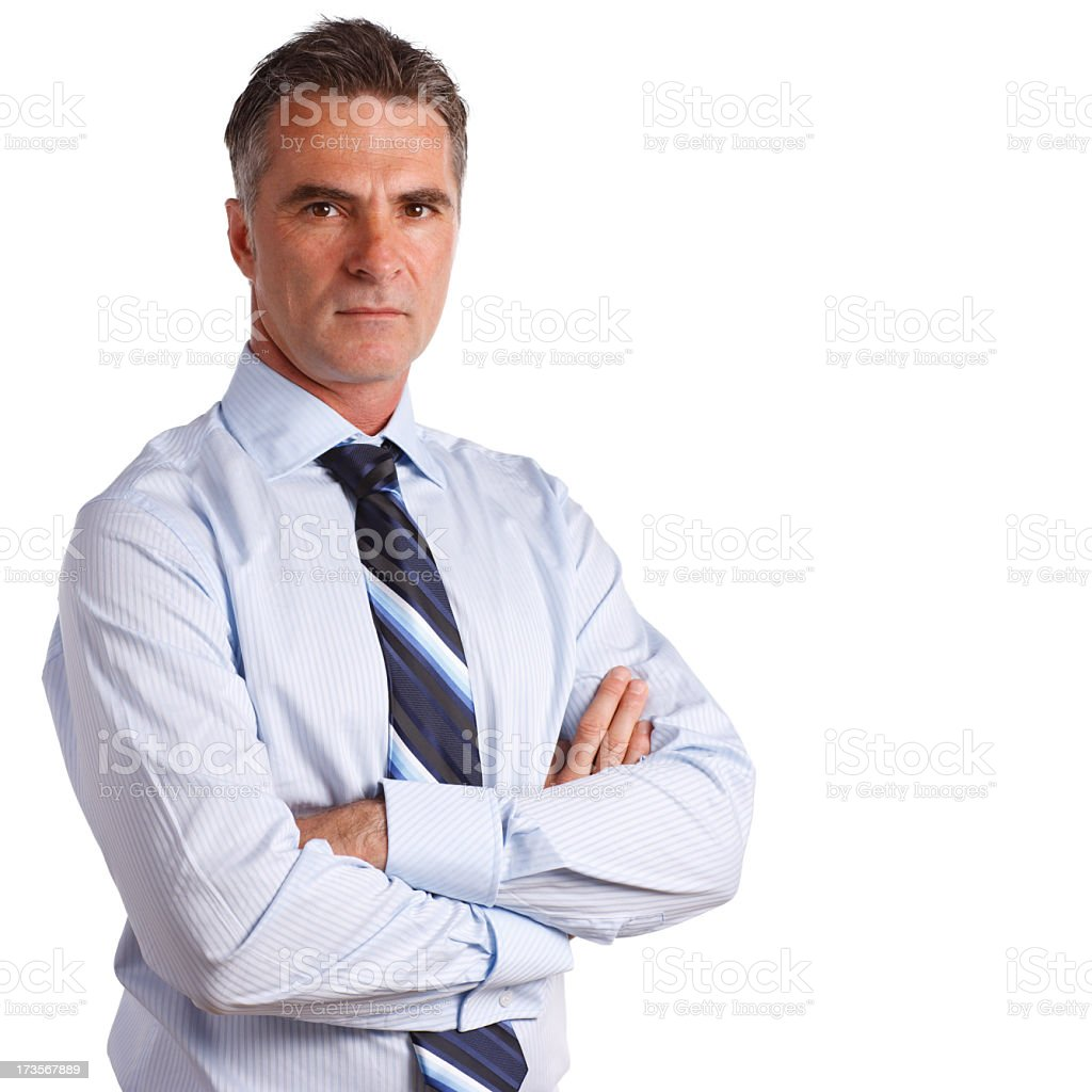 Concerned Professional stock photo