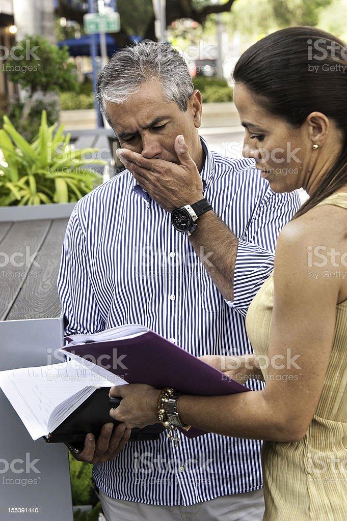 concerning news royalty-free stock photo