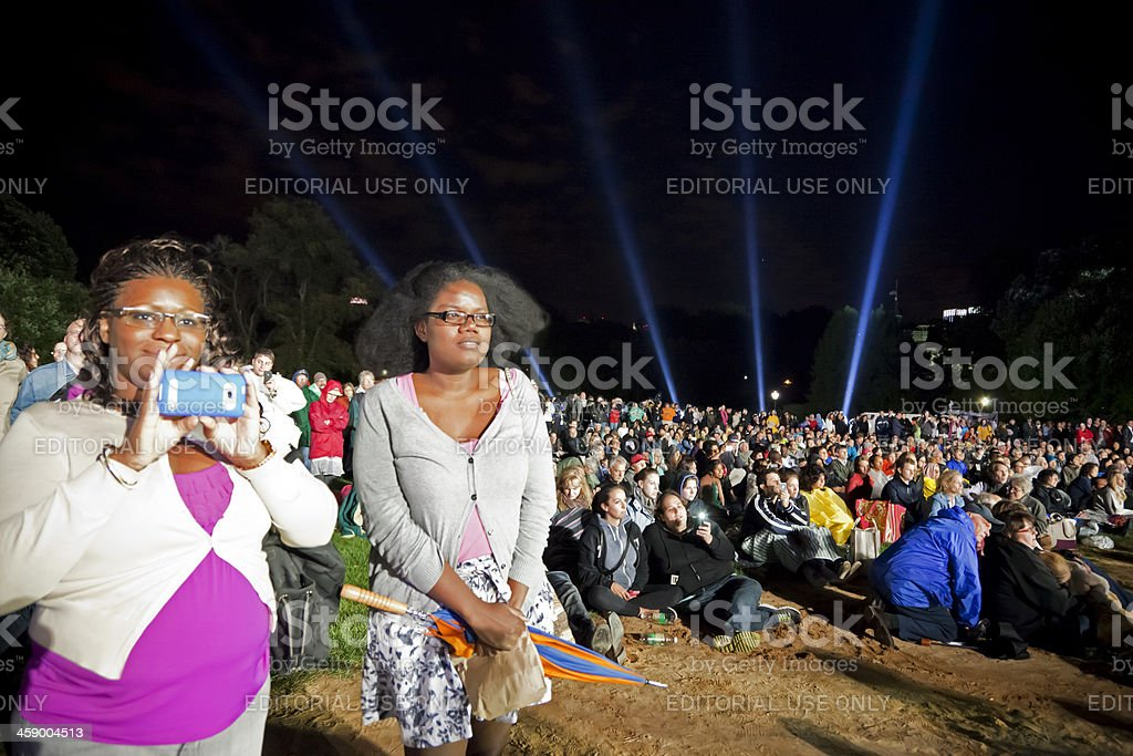 Concert Central Park New York City # 2 royalty-free stock photo