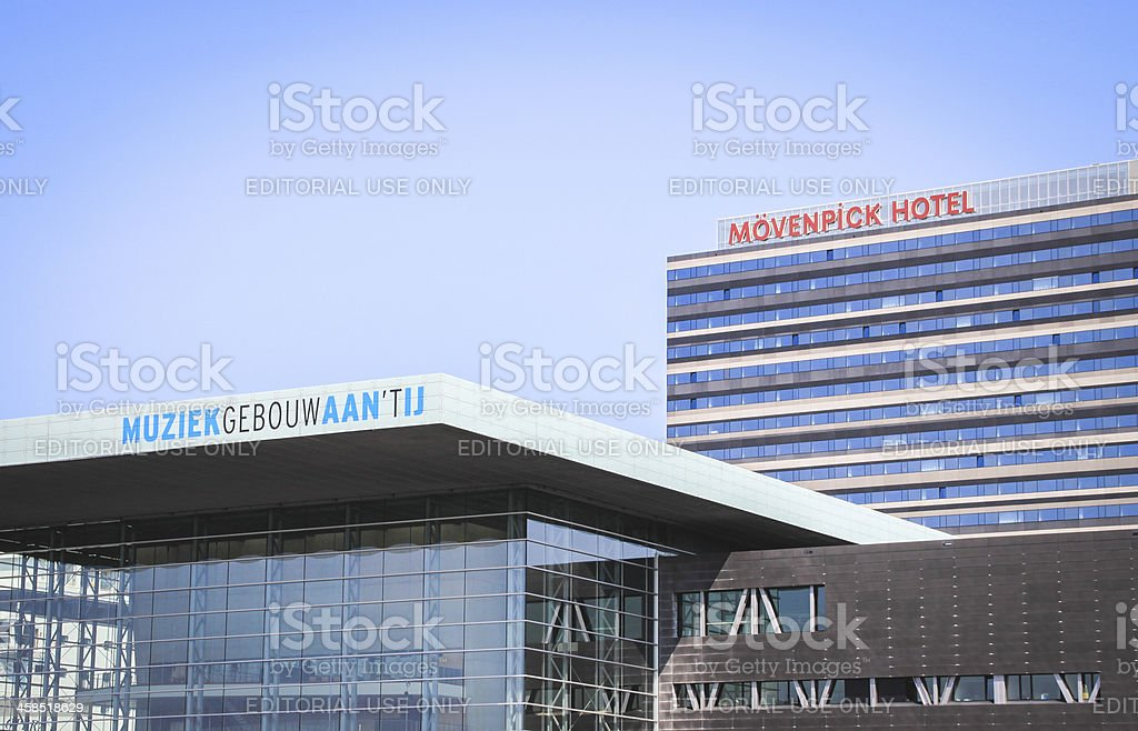 Concert Hall, Amsterdam. stock photo