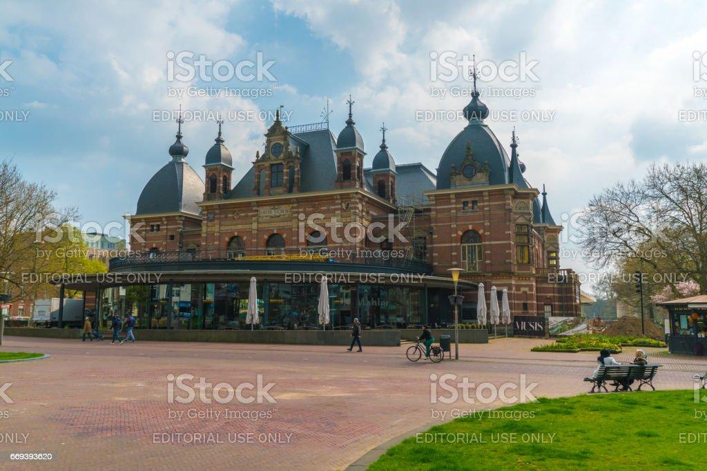 concert hall in Arnhem stock photo