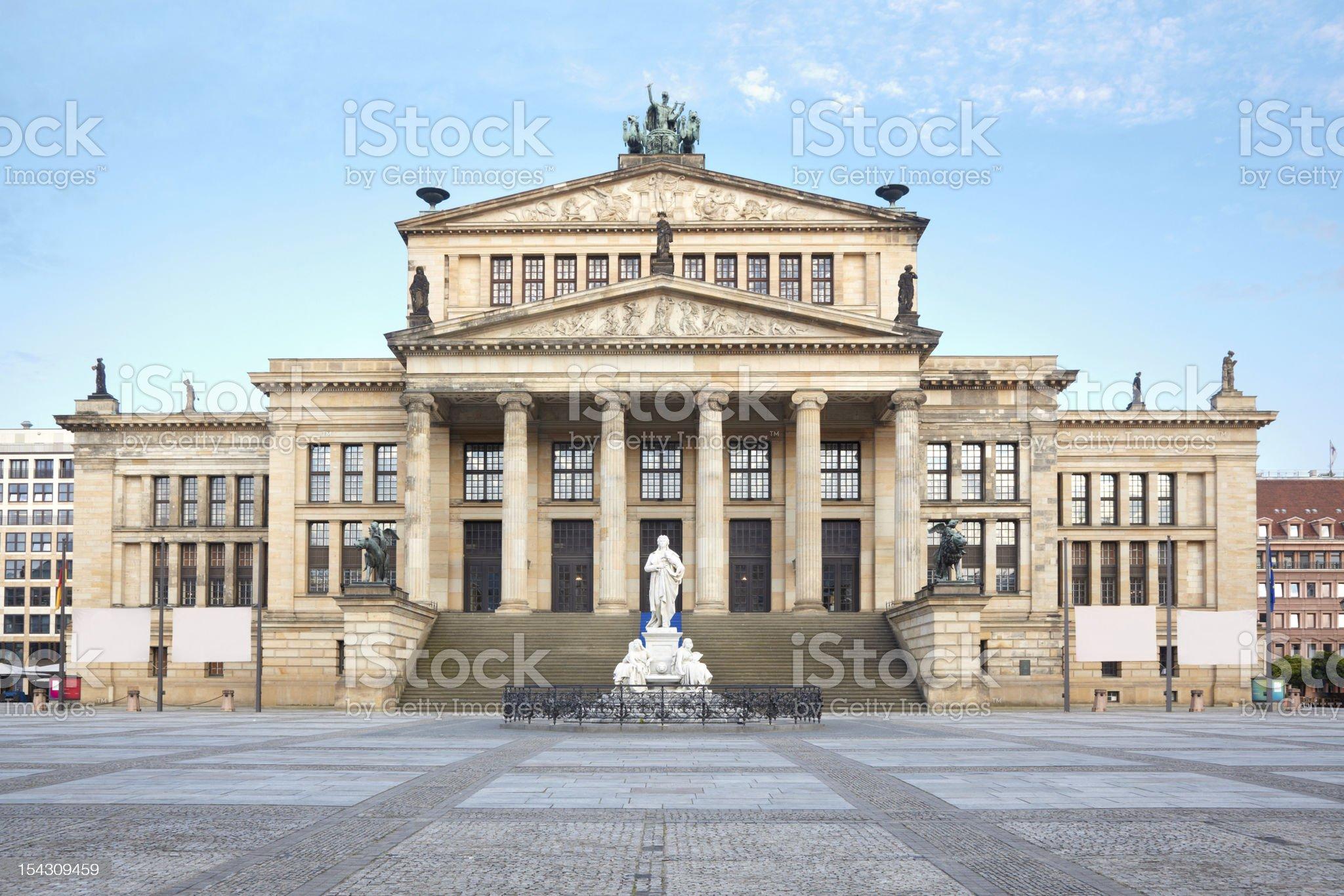 Concert hall in Gendarmenmarkt, Berlin royalty-free stock photo