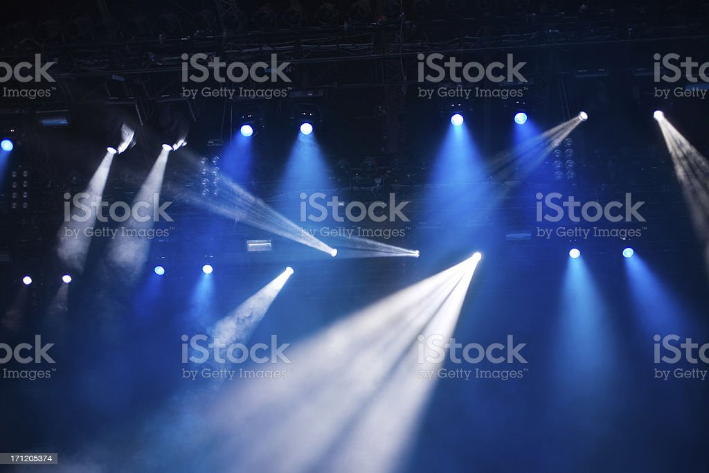 concert lights royalty-free stock photo