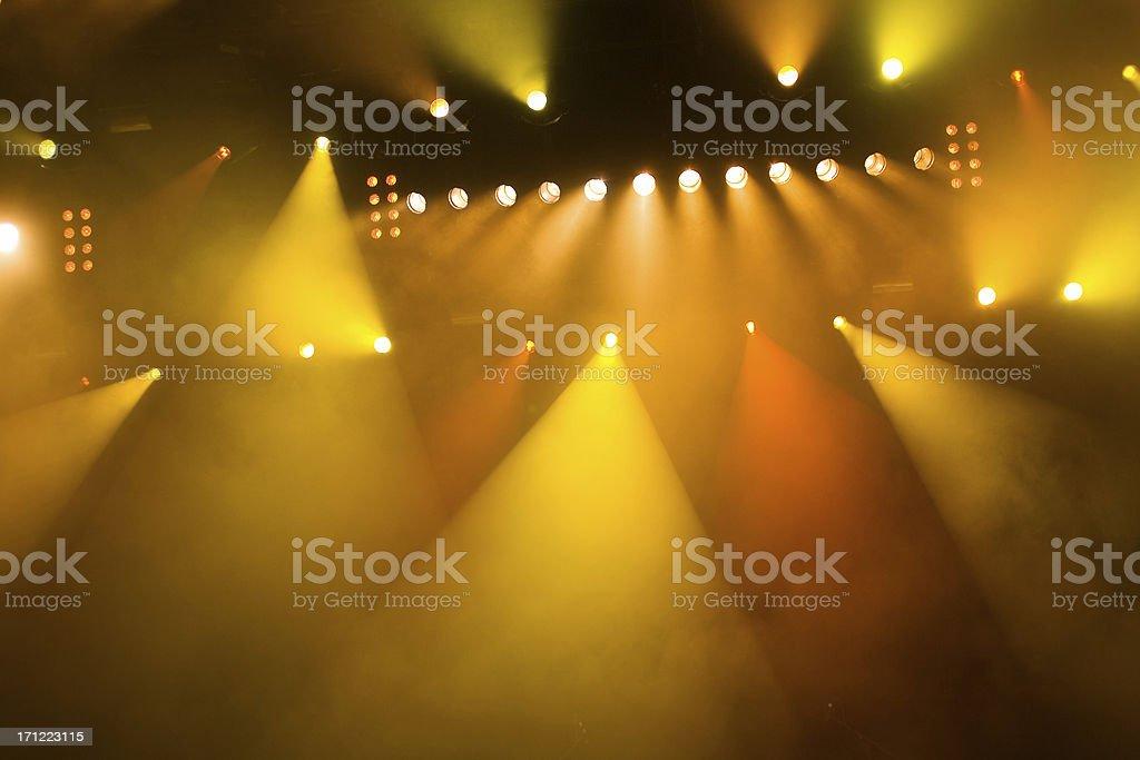 concert lights stock photo