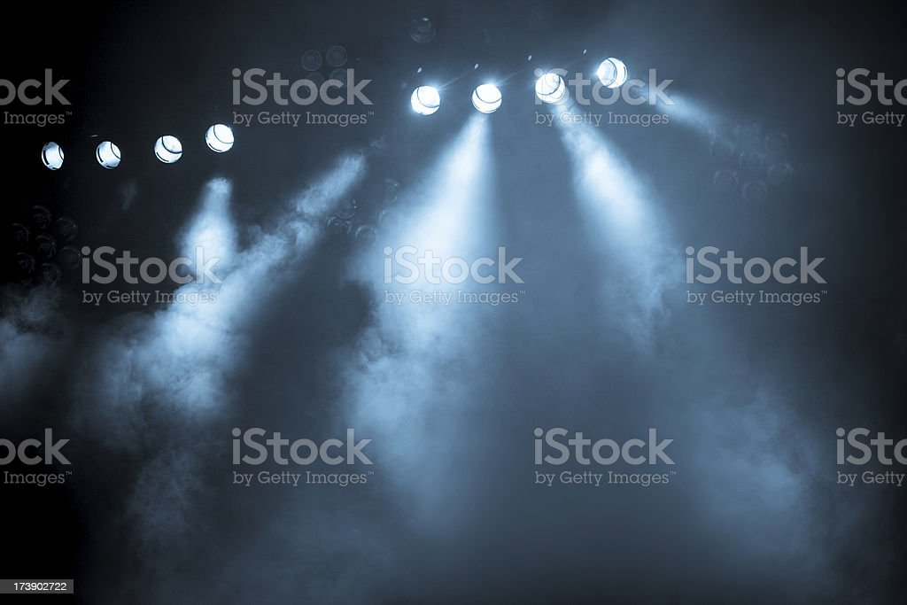 concert lights stock photo
