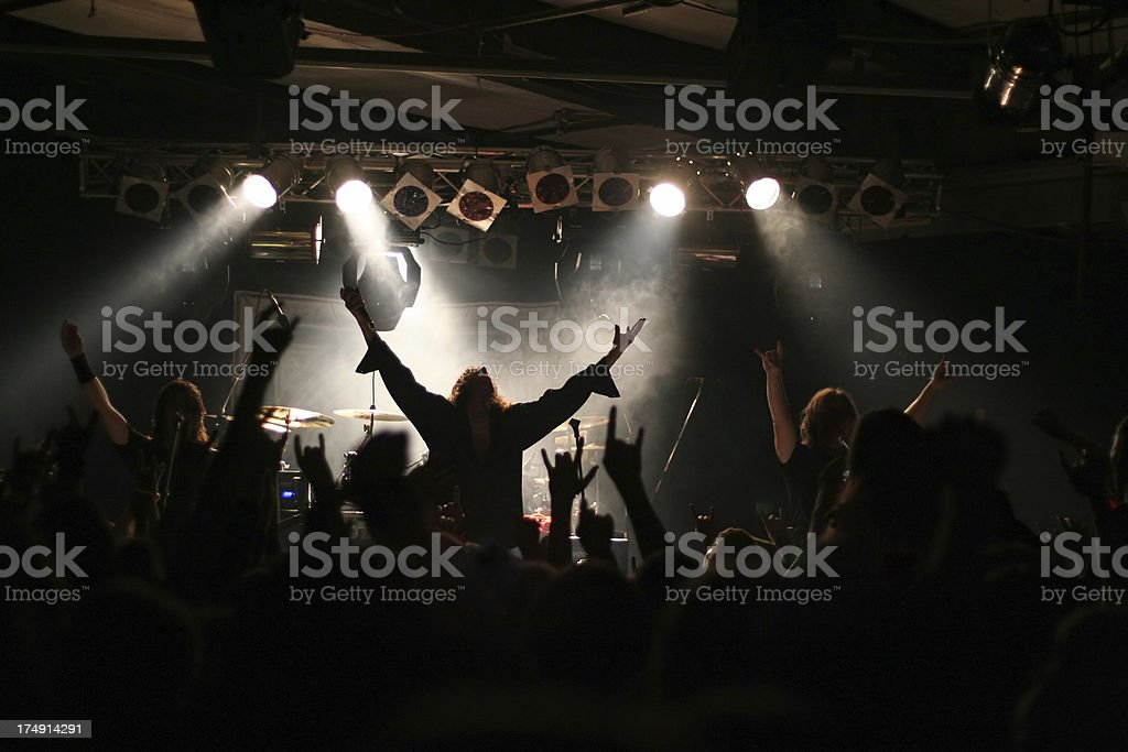 Concert people stock photo